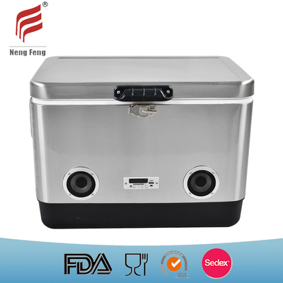 51L Cooler Box with Bluetooth Speaker